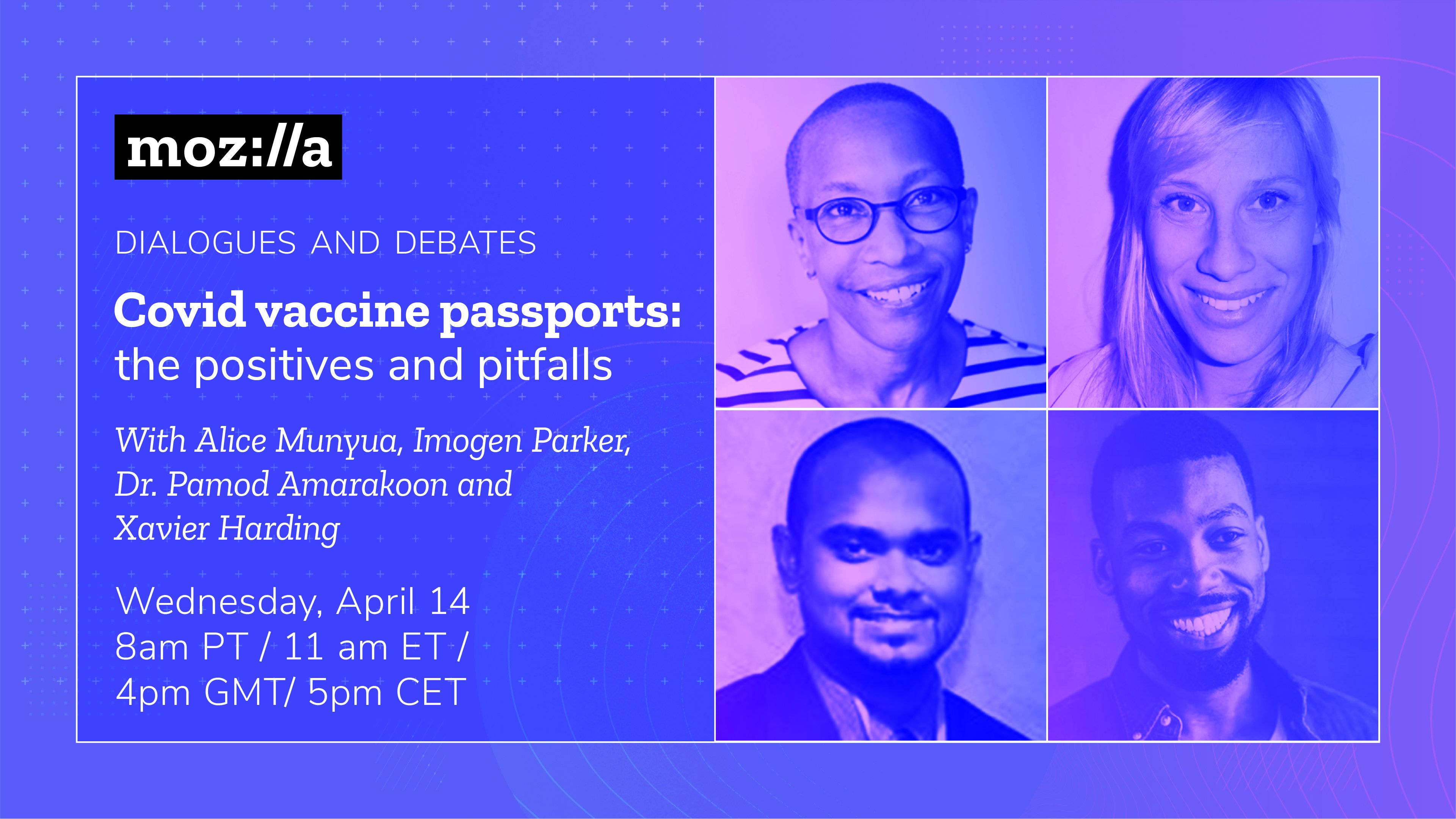 Dialogues and Debates: Covid Vaccine Passports on April 14
