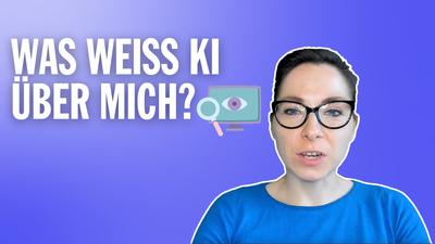 What does AI know about me DE