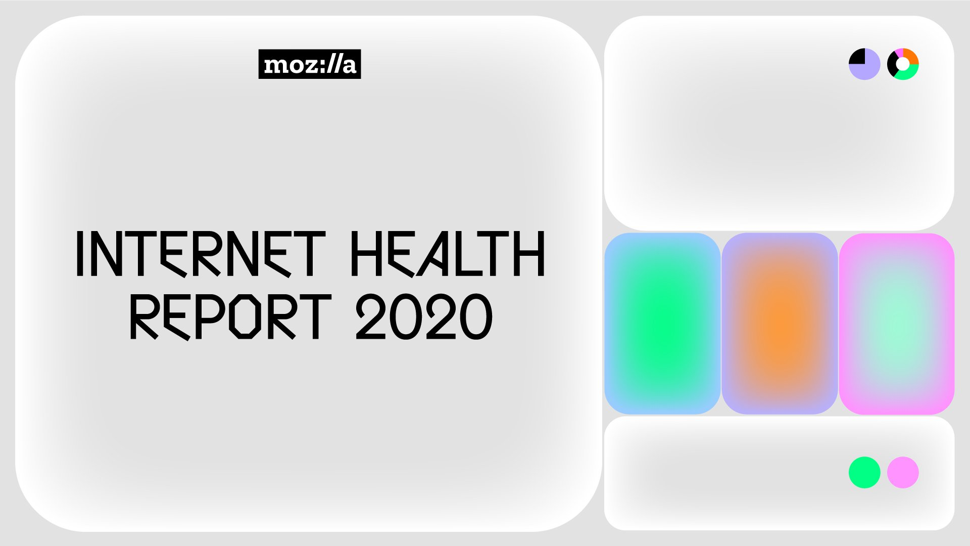 Launched today! Discover the latest Internet Health Report.
