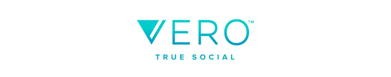 Logo that says Vero: True Social