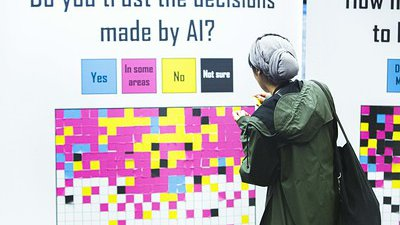 Data Stewardship | Do You Trust Decisions Made By AI at MozFest.jpg
