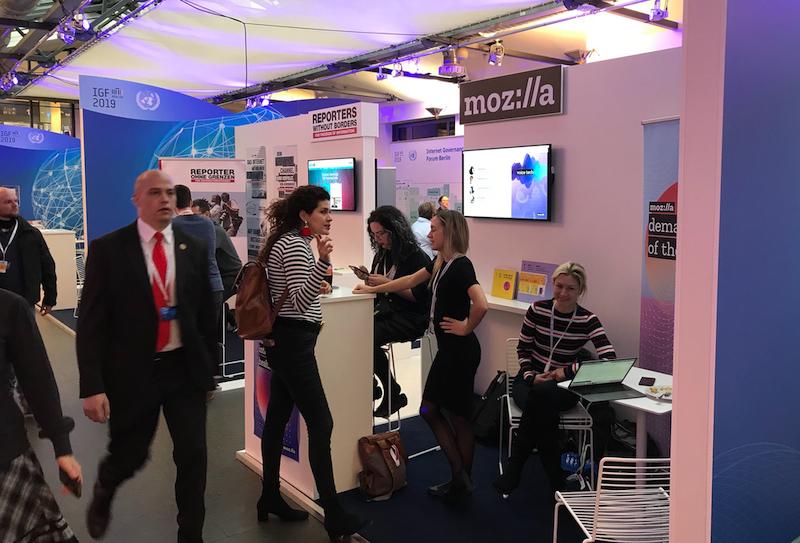 Mozilla at the UN Internet Governance Forum in Berlin
