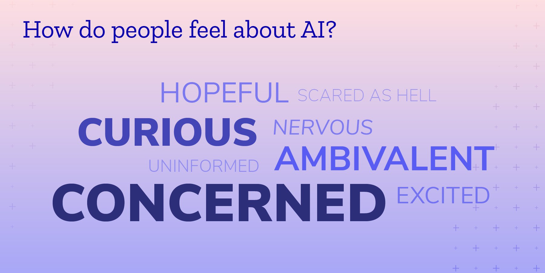 How do people feel about AI?