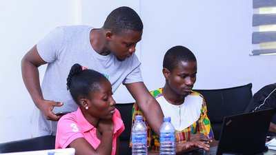 Parliament of Ghana Wikipedia and Wikidata workshop organised by Global Open Initiative