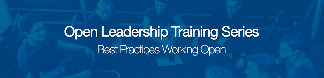 Open Leadership Training Series