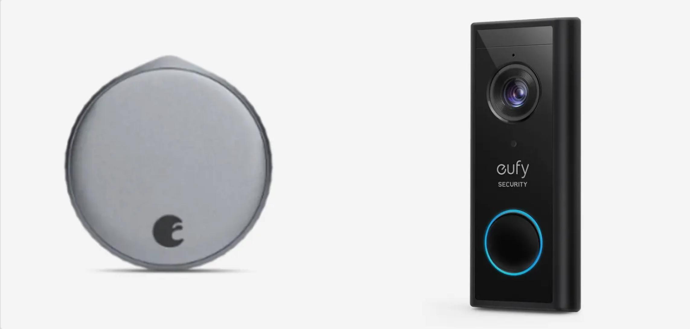 August WiFi Smart Lock vs Eufy Video Doorbell