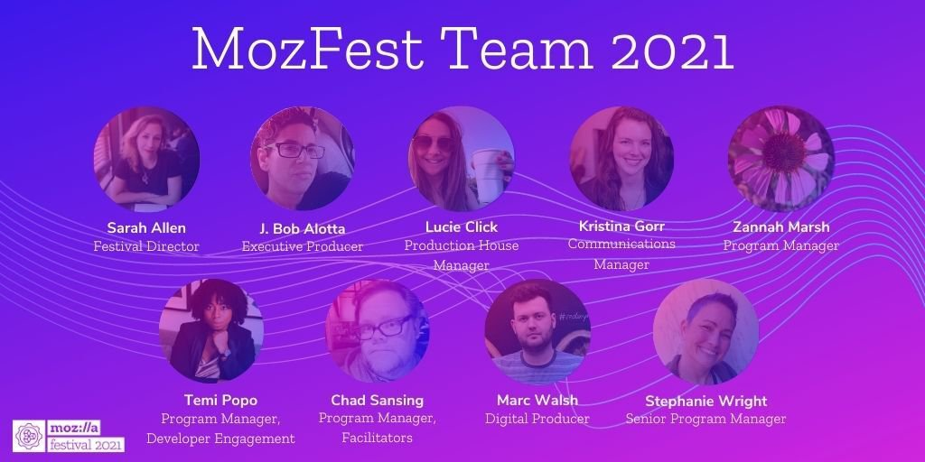 Favorite Sessions From The MozFest Team