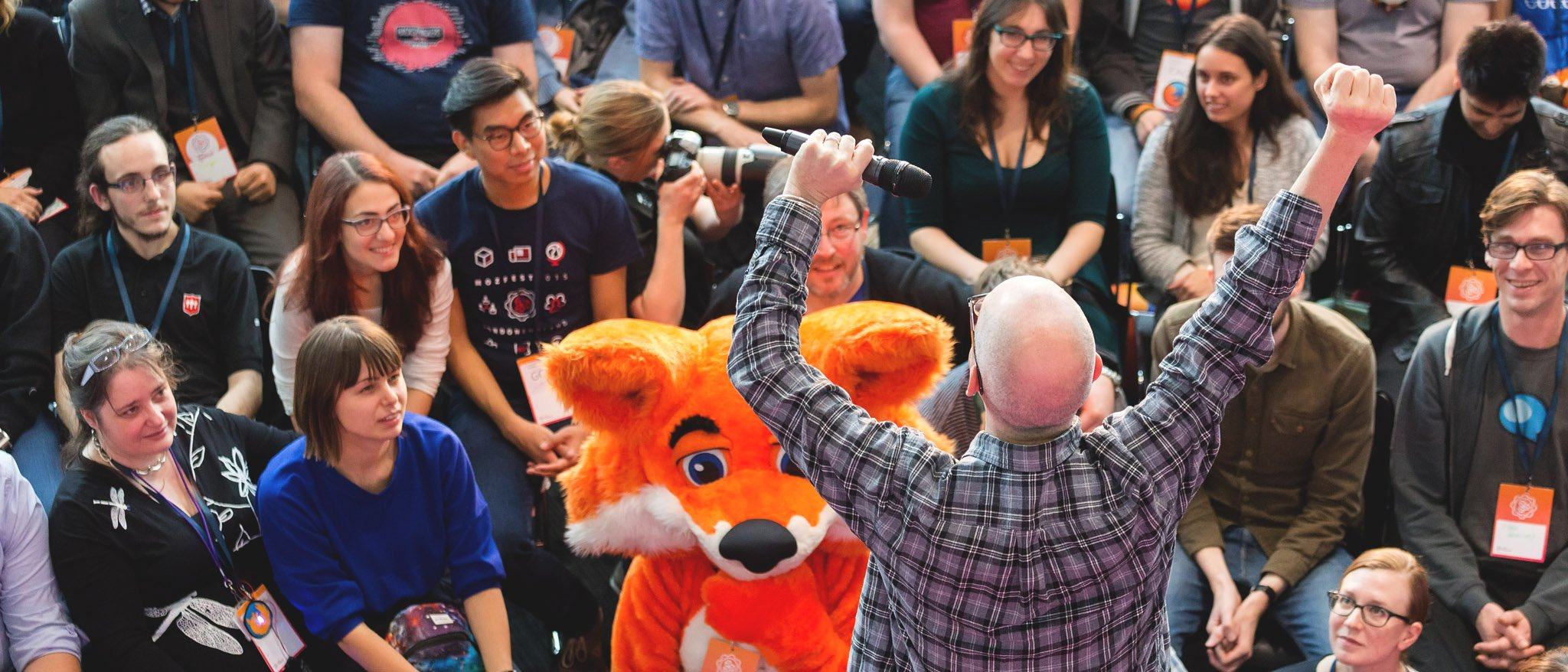 people at mozfest