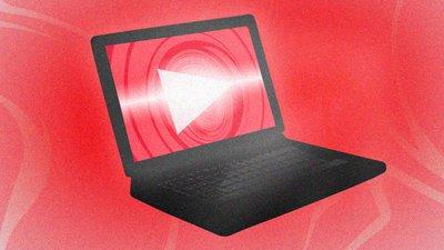 YouTube Laptop Image