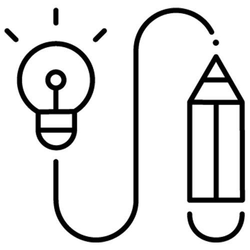 Creative AI space icon