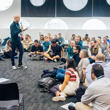 A MozFest training session