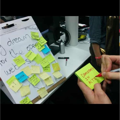 mozfest session post its