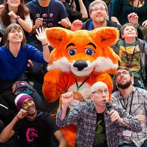 mozfest with foxy