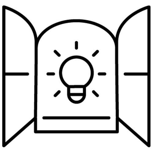 Openness space icon