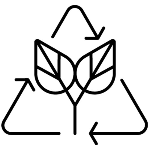 Sustainability space icon