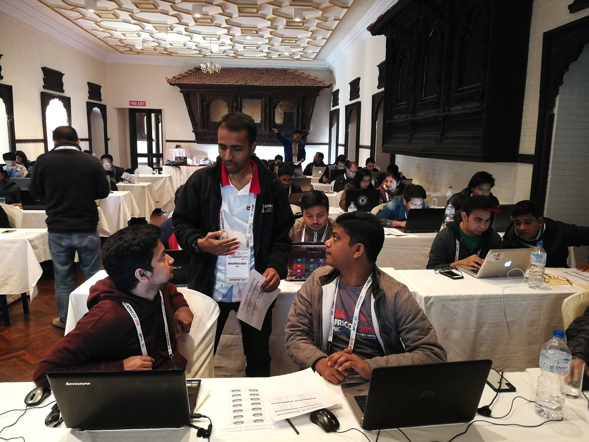 Md. Abdul Awal at APRICOT