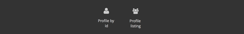 pulse profile component icons