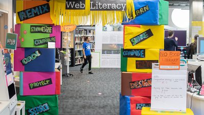 Web Literacy space at MozFest